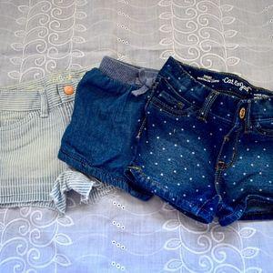 Toddler Girl Jean Shorts
